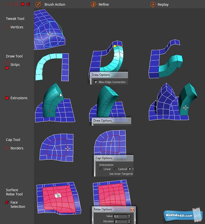انتشار ابزاری جدید در زمینه مدلسازی با نام Alles Im Fluss برای نرم افزار Autodesk 3ds Max