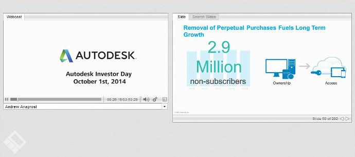 خبر subscription-only شدن محصولات کمپانی Autodesk در طی 2 سال آینده
